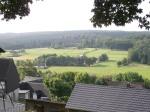 """morgendliche Aussicht vom Gasthof """"Hirsch"""""""